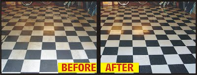 san diego linoleum vinyl cleaning stripping waxing polishing