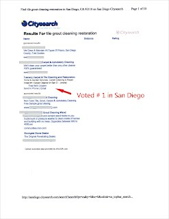 Citysearch Voted Tuscany Number 1 floor company in San Diego